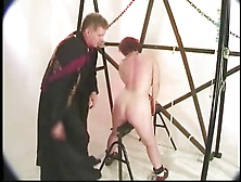 Kathryn marie pulls her panties aside and then swallows - 2 part 7