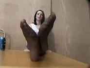 Nylon Foot Fetish - Amateur Porn Tube Video At Yourlust. Com!