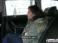 Hungarian Teen Gets In A Fraud Taxi And Has To Pay With Her Puss