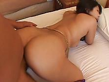 Brunette hottie hitomi nakagawa banged outside uncensored 9