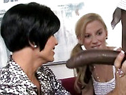 Big Tit Mom And Daughter Fuck A Black Man With A Huge Black Cock