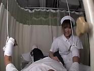 Japanese Nurse Takes Care Of My Throbbing Peter In Sex Movie