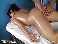 Oiled Teen Beauty Gets Her Perfect Little Ass Dirlled