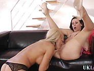 Stockings Brit Toys Pussy Mature