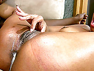 Pleasure Bunny's Tight Black Pussy Is Filled With Sticky Cum