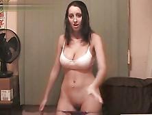 Perfect Boobs Girl Sexy Webcam Striptease Dance