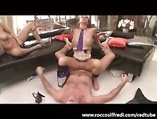 Rocco Siffredi E Due Belle Troie Tutte Da Scopare.