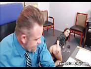 Dad Fucks Step Daughter At Work