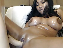 This Gorgeously Hot Latina Webcam Model Loves Being A Naughty Gi