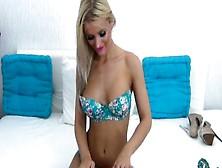 Blonde-Head At Evocams. Com