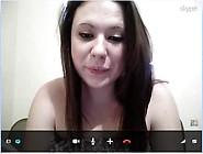 Camgirl Skype Pussy Play