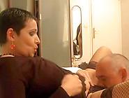European Brunette Milf Enjoys A Cock Up Her Hot Pussy