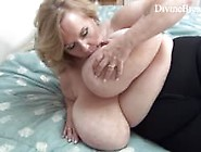 Busty Blond Bbw Milf Jiggles Her Giant Big Boobs Suzie Has Monst