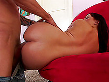 Zestful Brunette With A Nice Ass Getting Hammered Hardcore Anal
