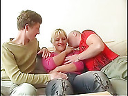 Mature Mom Lets Two Junior Guys Fuck Her