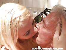Blonde Cute Teen With Old Cock