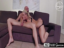Spy Cam - Johnny Sins Destroys Kissa Sins
