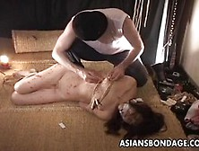 Slim Asian Babe Ended Up Tortured In A Kinky Guy's Studio,