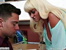 Strict Headmistress Nikita Von James With Big Boobs Operates Its