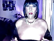 Chrissie Smokes And Plays With Her Tits Just For You