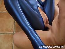 Hot Girl In Tight Spandex Fucked Hard