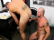 Hot Gay Sex Horny Office Butt Banging