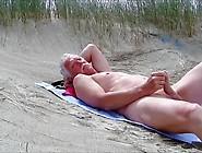 Wank On The Beach
