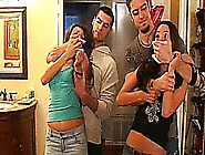 Celeste Star And Her Friend Gets Chloroformed By Two Guys