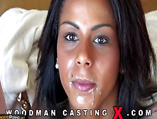 Casting - Two Horny White Cocks For Ebony Whore's Hot Cunt