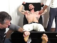 Cum On Feet Male Gay Kc Gets Tied Up & Revenge Tickled