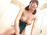 Rubbing The Tits And Slippery Pussy Lips Of An Asian Sugar