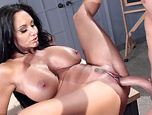 Step Mom Ava Addams Roughly Fucked On The Table By Lad With Larg