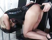Kinky Shemale Gets Her Tight Ass Toyed And Fucked Hard