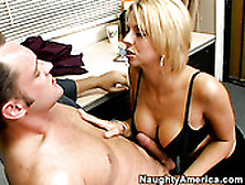 Busty Blond Secretary Brianna Beach Needs To Get Fucked
