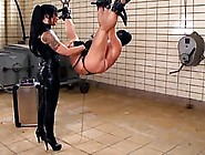 Kinky Woman Likes To Tie Up Her Sex Slave And Play With Him And