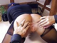German Milf Secretary Eats Boss Cum