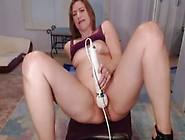 Milf Spreads Pussy On Webcam