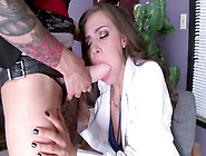Anna Bells Peaks Fucking Her Sexy Lesbian Employee At Work
