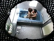 Hidden Camera Catches A Couple Naked In The Spa After Dinne