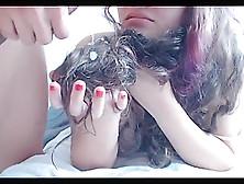 Columbian Hairjob And Cum In Hair Long Hair Hair