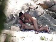 Voyeur Spanish Brunette Get Fucked At The Beach By Stranger