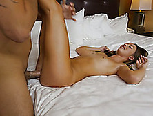 Big Dick Gets Into The Shaved Tight Pussy Of A Tall Girl