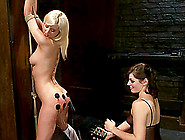Bdsm Lesbian Fun With Torture And Strapon Feat Bobbi Starr And C