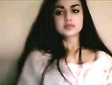 Breath-Taking Amateur Indian Beauty Strips On Webcam Teasingly