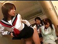 Asian Lesbian Teacher Loves Licking Schoolgirl Ass And Feet