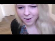 German Blonde Busty College Girl Get Creampied.