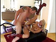 Vicious Blonde Slut Gets Her Pussy Drilled