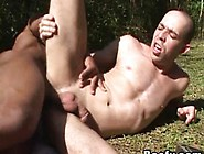Facial Cum After Butt Fucking With Muscled Gays