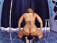 Blonde Latino miss sexy women are