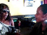 African Black Lesbians - Slutty African Hottie Seduced By Sista